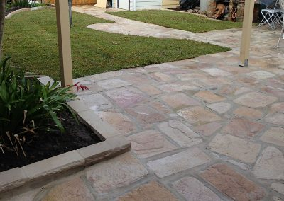 Backyard Paving
