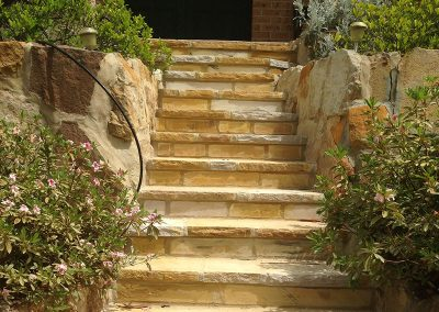 Sawnstone Steps