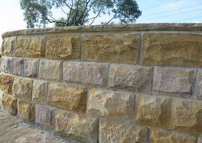 Sandstone hydra split wall