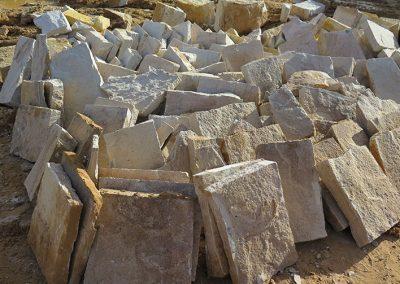 Split Flagging Stone