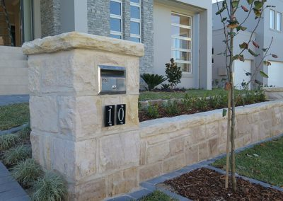 Cladding & Capping Stone
